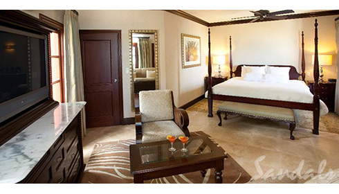 Caribbean Honeymoon Seaside Butler Suite (HS)