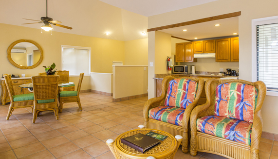 Showing slide 5 of 7 in image gallery showcasing 2 Bedroom Villa