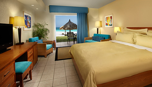 Showing slide 13 of 19 in image gallery, Divi Aruba All Inclusive - Rooms - Oceanview Room