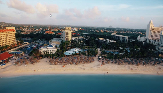 Showing slide 1 of 20 in image gallery for Hilton Aruba Caribbean Resort & Casino