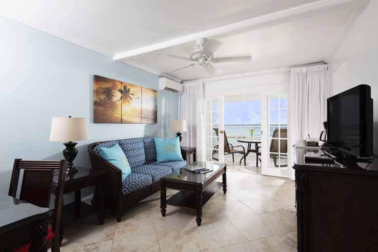 Showing slide 2 of 2 in image gallery, One Bedroom Ocean Front Suite