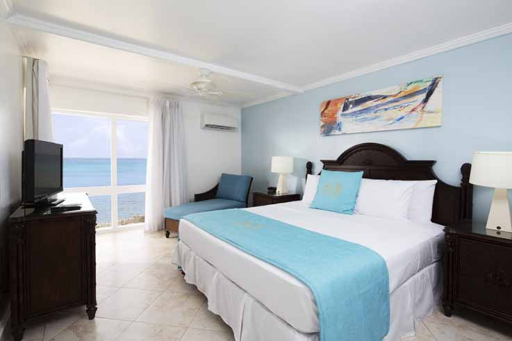 Showing slide 1 of 2 in image gallery, One Bedroom Ocean Front Suite