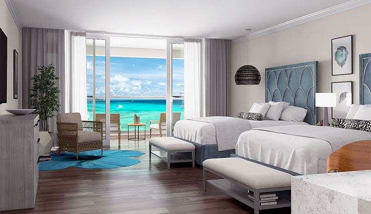 Luxury Ocean View Junior Suite