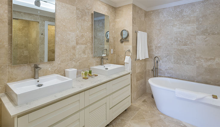 Showing slide 5 of 5 in image gallery, Master Bathroom