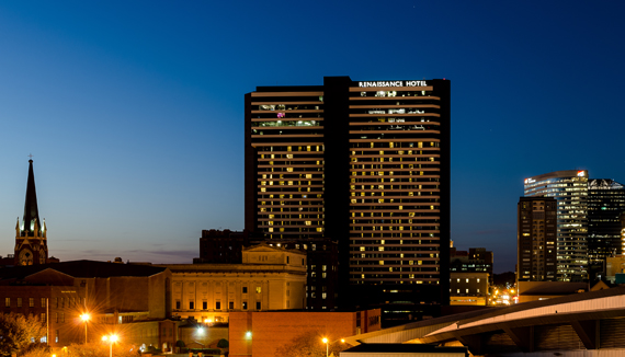 Showing Renaissance Nashville Hotel feature image