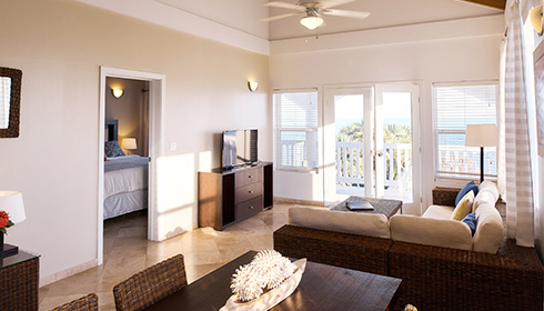 Showing slide 2 of 2 in image gallery showcasing One Bedroom Oceanfront