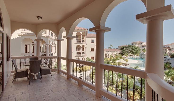 Showing slide 3 of 5 in image gallery showcasing 1 Bedroom Pool View Villa