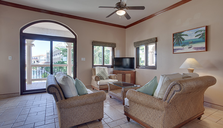 Showing slide 1 of 5 in image gallery showcasing 1 Bedroom Pool View Villa