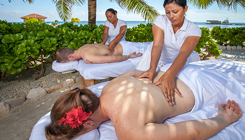 Showing slide 3 of 14 in image gallery, Spa Massage