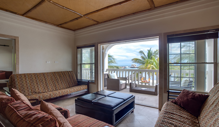 Showing slide 1 of 3 in image gallery showcasing Master Suite Beachfront