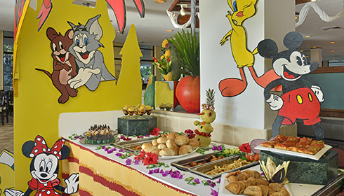 Kids corner buffet