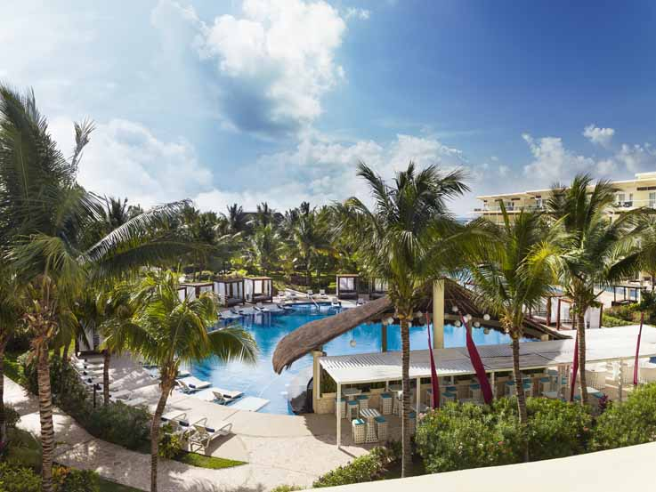 azul beach resort riviera cancun westjet. Black Bedroom Furniture Sets. Home Design Ideas