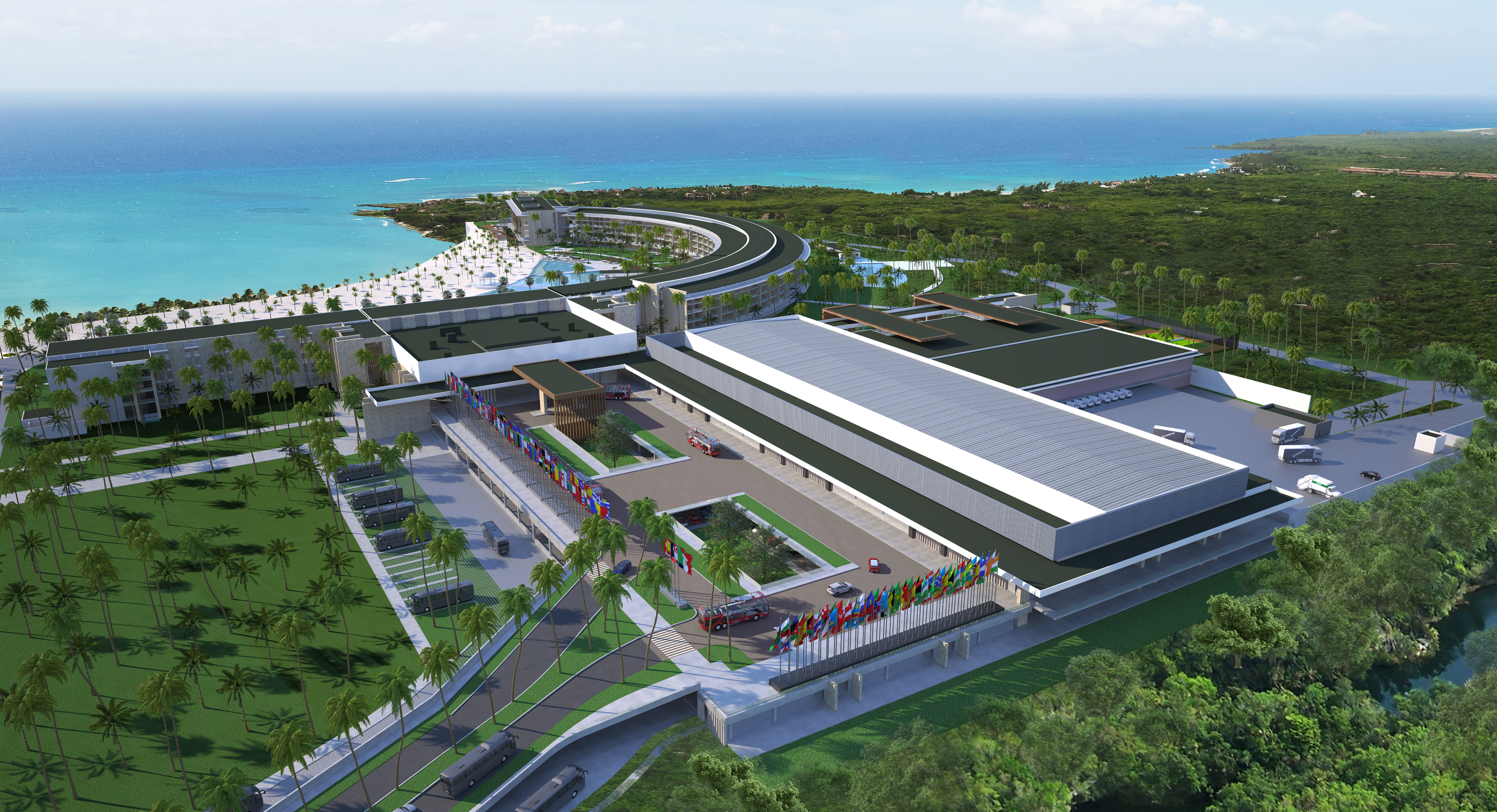 Barcelo Maya Riviera - Convention Centre - artist rendering