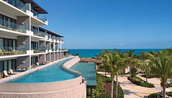Showing slide 3 of 3 in image gallery showcasing Preferred Junior Suite Swim Out Ocean View