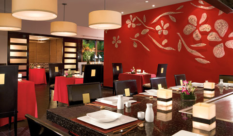 Image 11 de 18, de la gallerie de photos : Dreams Riviera Cancun - services - Himitsu Restaurant