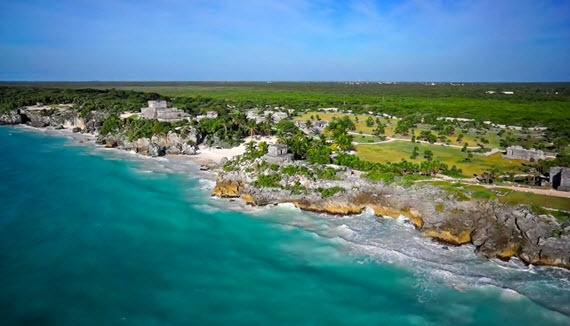 Showing slide 1 of 22 in image gallery for Dreams Tulum Resort & Spa