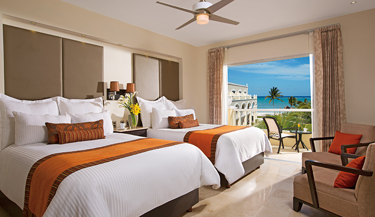 Showing slide 3 of 4 in image gallery showcasing Deluxe Ocean View Room