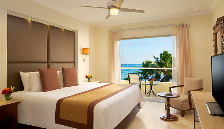Showing slide 2 of 4 in image gallery showcasing Deluxe Ocean View Room