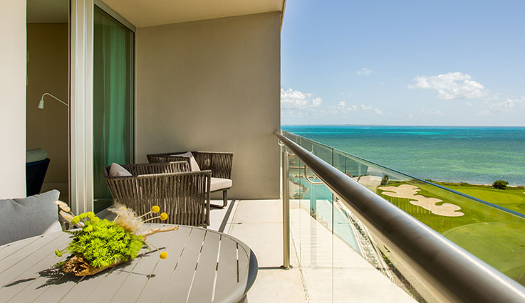 Image showcasing Preferred Club Corner Suite Ocean View