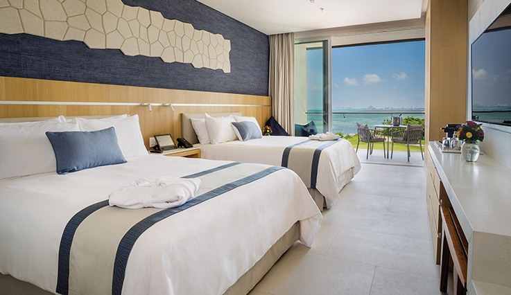 Image showcasing Preferred Club Deluxe Family Suite Ocean View