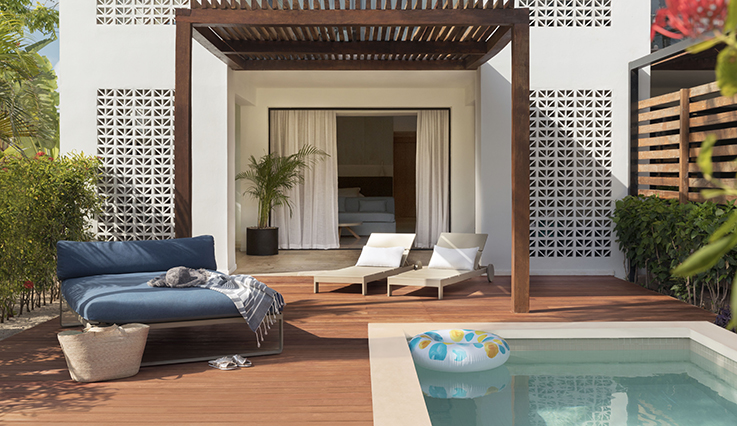 Image showcasing Junior Suite with Private Pool