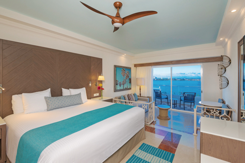 Showing slide 1 of 2 in image gallery showcasing Junior Suite Oceanview