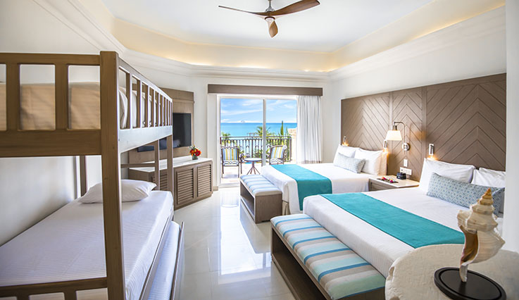 Image showcasing Family Junior Suite Oceanfront
