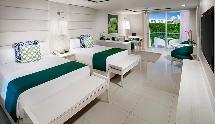 Showing slide 2 of 3 in image gallery showcasing Deluxe Junior Suite Ocean View