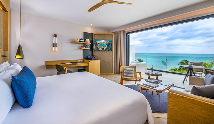 Serenity Club Junior Suite Ocean Front View