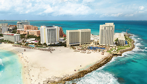 Showing Hyatt Ziva Cancun feature image