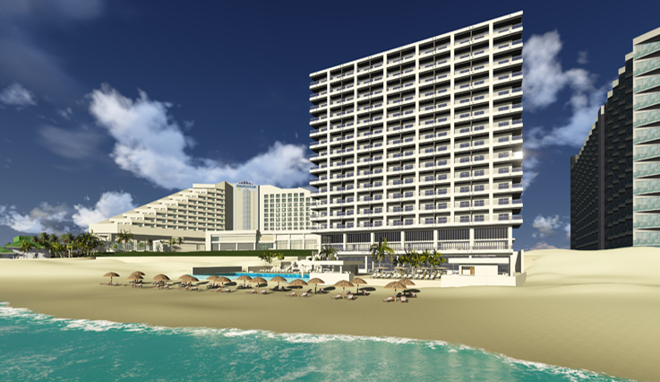 Coral Level at Iberostar Selection Cancun (artist rendering)