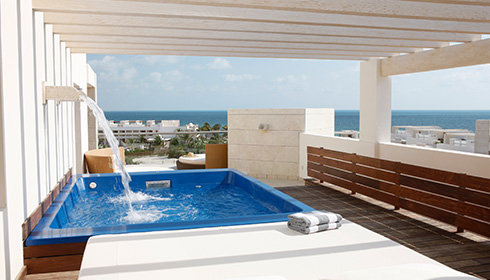 Ocean View Terrace Suite w/ Plunge Pool