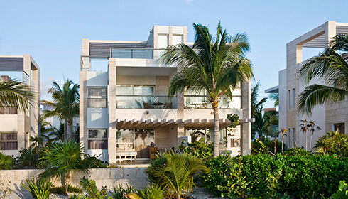 Showing slide 1 of 3 in image gallery, Two-story Casita Suite with Plunge Pool - exterior