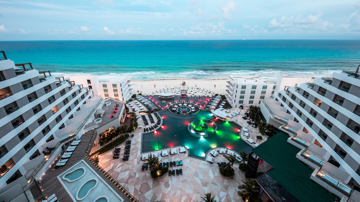 Melody Maker Cancun Aerial