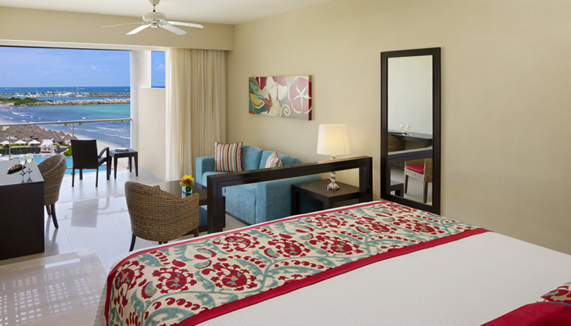 Showing slide 2 of 3 in image gallery showcasing Junior Suite Ocean View