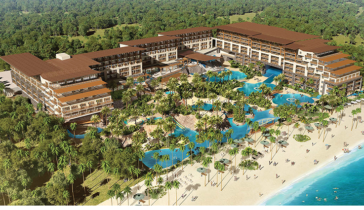 Now Natura Riviera Cancun - Artist Rendering