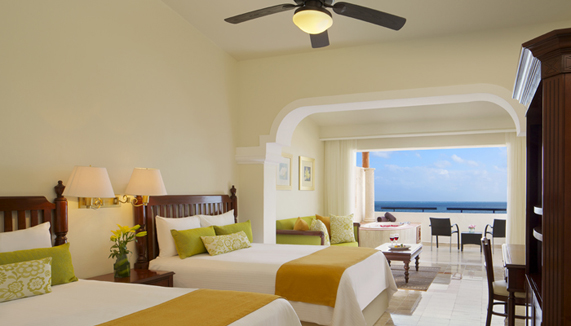 Showing slide 2 of 2 in image gallery showcasing Preferred Club Junior Suite Tropical View