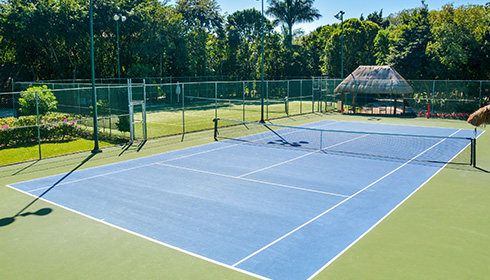 Showing slide 24 of 24 in image gallery, Tennis court