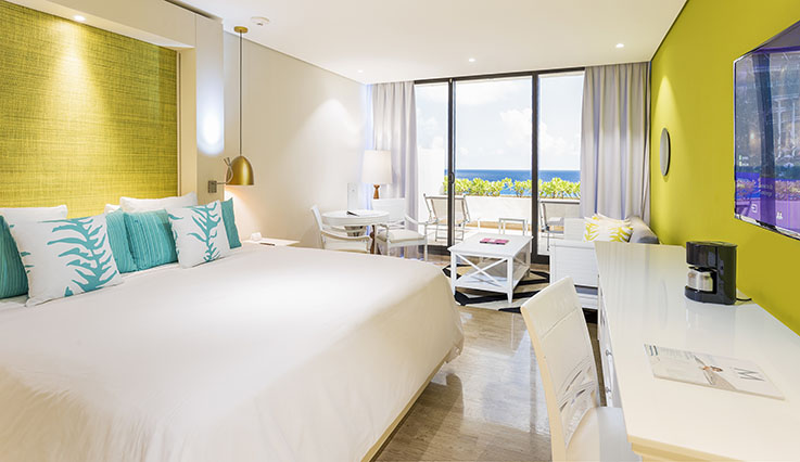 Showing slide 2 of 2 in image gallery showcasing Luxury Junior Suite Ocean View