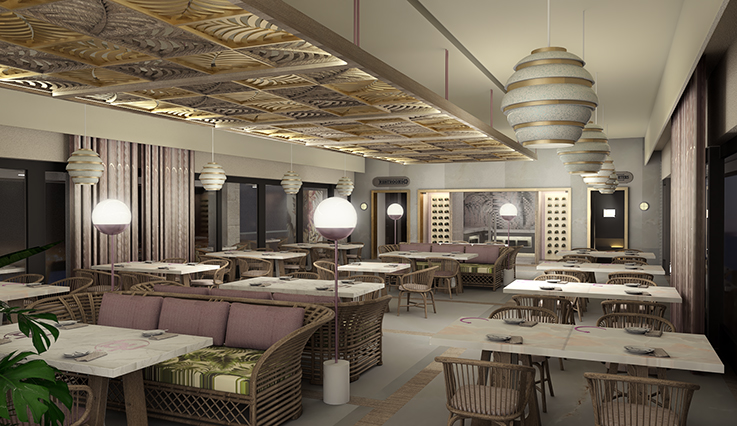 Catch Seafood Restaurant - artist rendering