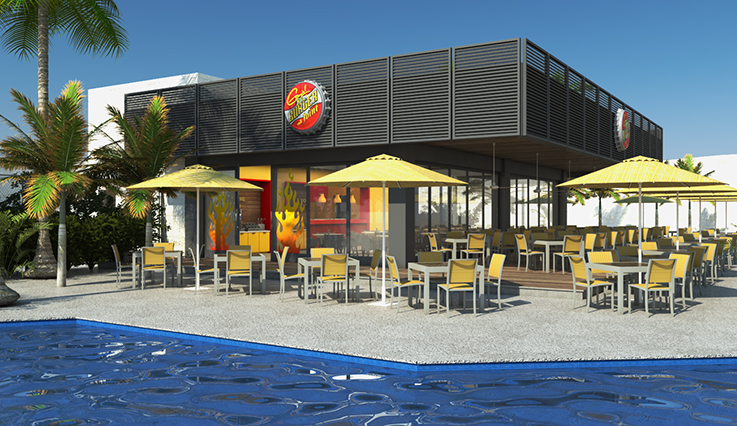 Guy's! Burger joint - artist rendering