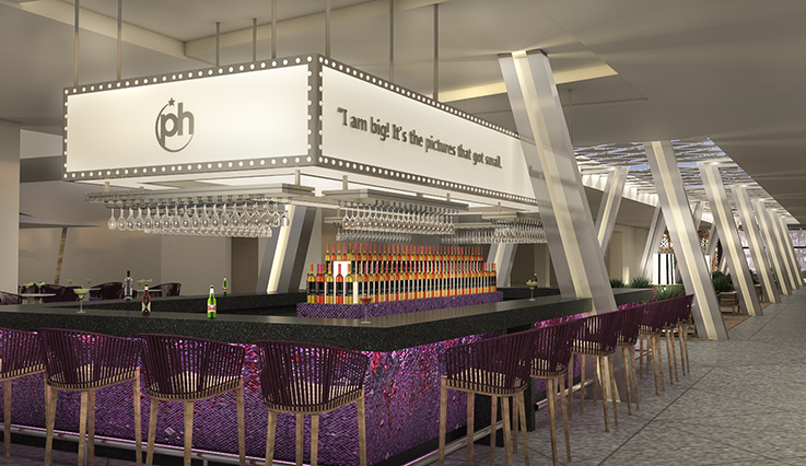 Twist Social Bar - artist rendering
