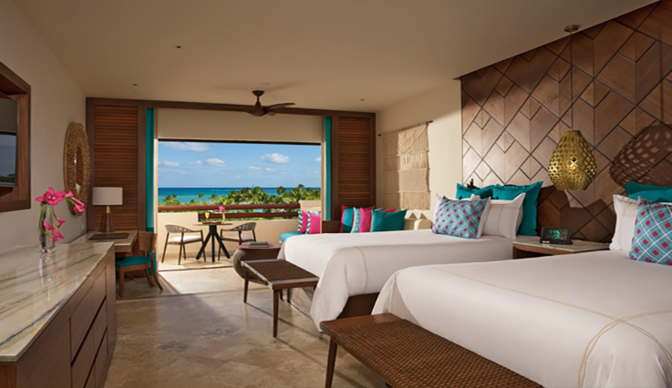 Showing slide 2 of 2 in image gallery showcasing Junior Suite Ocean View