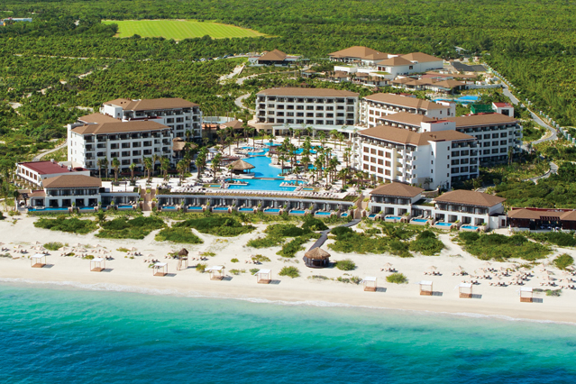 Showing slide 3 of 16 in image gallery for Secrets Playa Mujeres Golf & Spa Resort