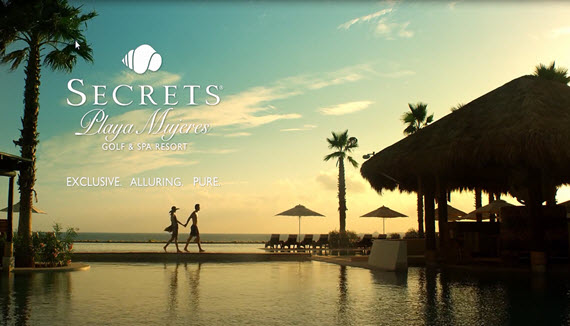 Showing slide 1 of 16 in image gallery for Secrets Playa Mujeres Golf & Spa Resort