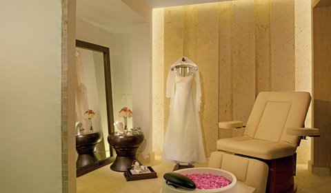 Bridal Room at the Spa