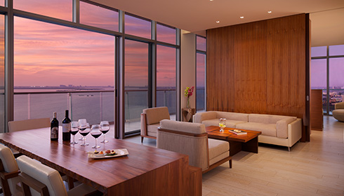 Showing slide 2 of 3 in image gallery showcasing Preferred Club Master Suite Ocean View