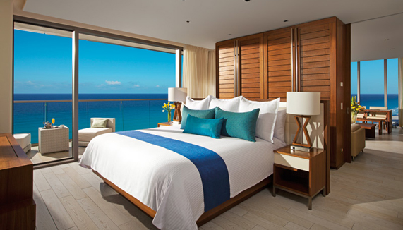 Showing slide 1 of 3 in image gallery, Preferred Club Master Suite Ocean View