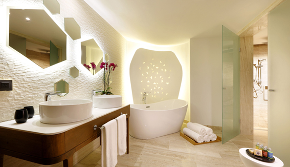 Showing slide 2 of 3 in image gallery, Loft Suite - Bathroom