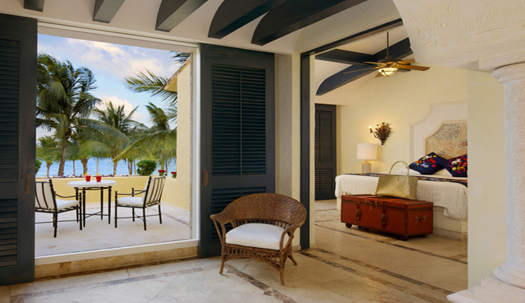 Showing slide 1 of 4 in image gallery, Romance Ocean Front 1 Bedroom Suite with Terrace